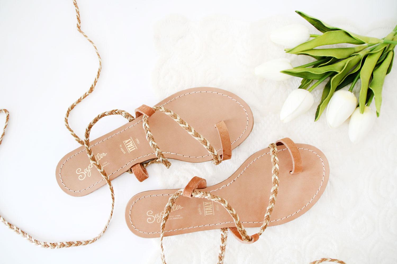 Seychelles Lace-up Sandals