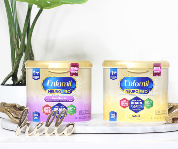 Nourish Your Baby's Brain First with Enfamil NeuroPro™ — Everything begins here