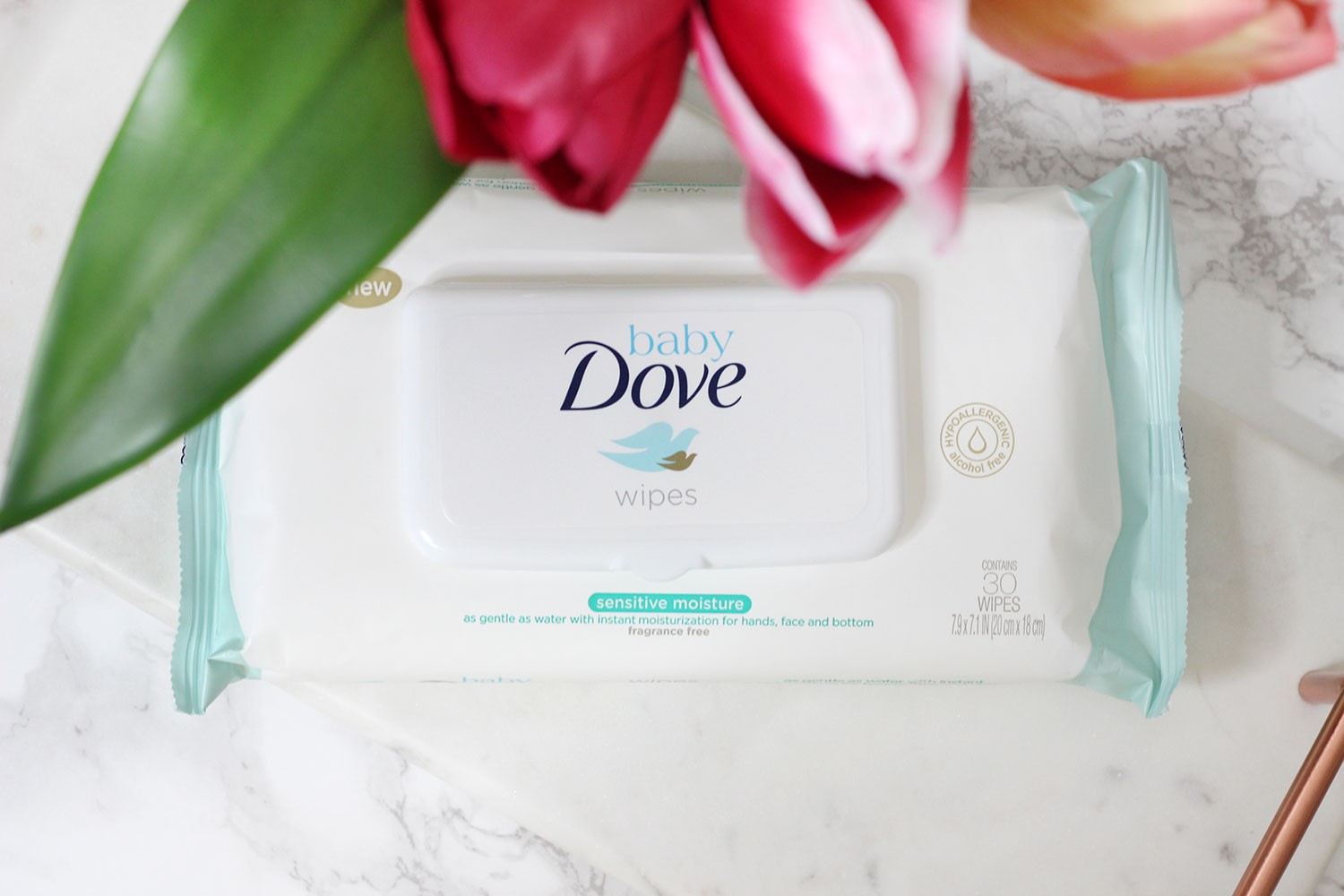 Baby Dove Baby Wipes