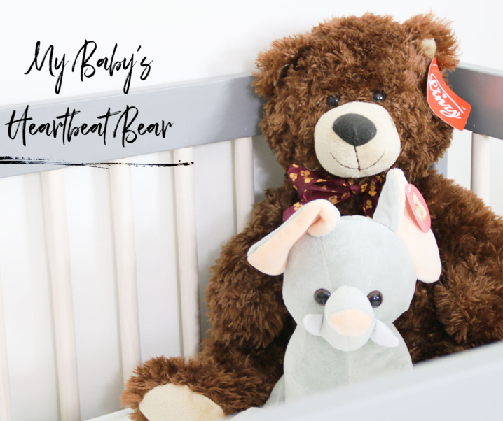 My Baby's Heartbeat Bear – A Unique Pregnancy Keepsake