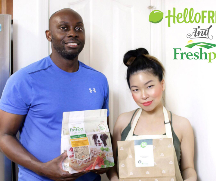 Switching our Lifestyle to Fresh Food Meals with HelloFresh and Fresh Pet