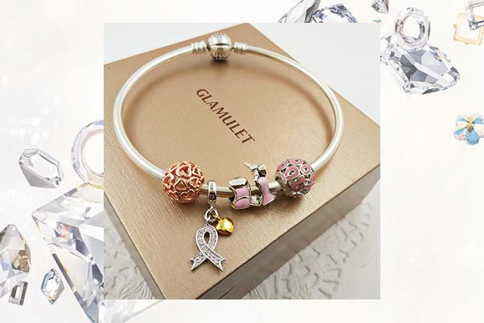 Glamulet Pink Charms