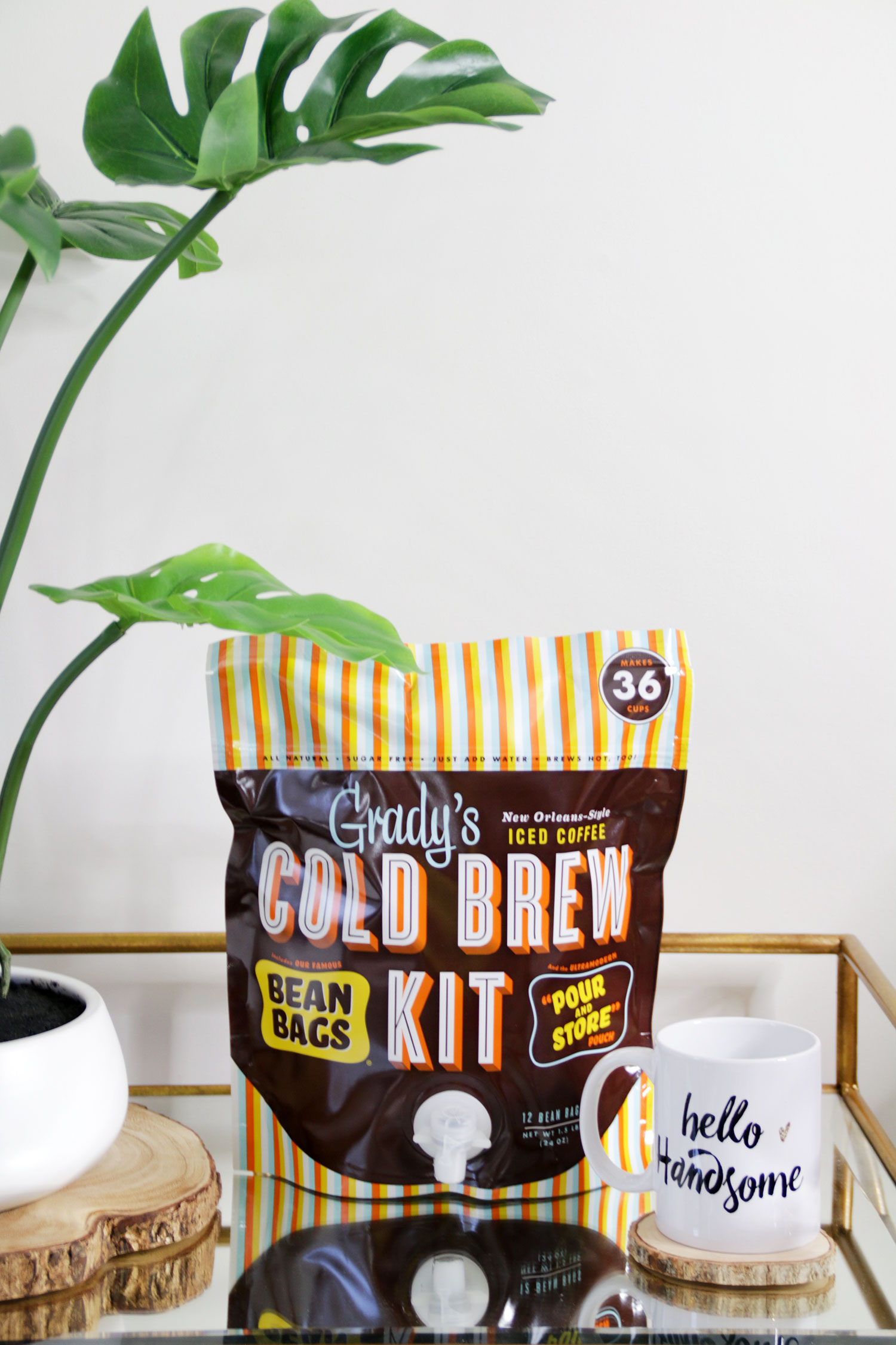 Grady's Cold Brew - Bean Bag Cold Brew Kit