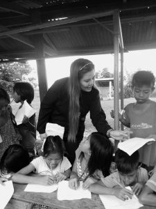 Aemee Jo Blanco at San Marcos Outreach Program