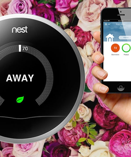 Connected Home With Nest Smart Thermostat from BestBuy #BBYConnectedHome