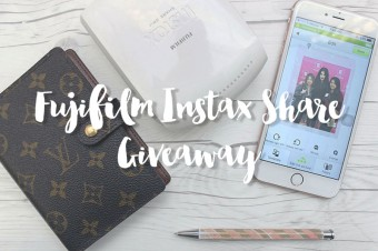 Fujifilm Instax Share Giveaway!