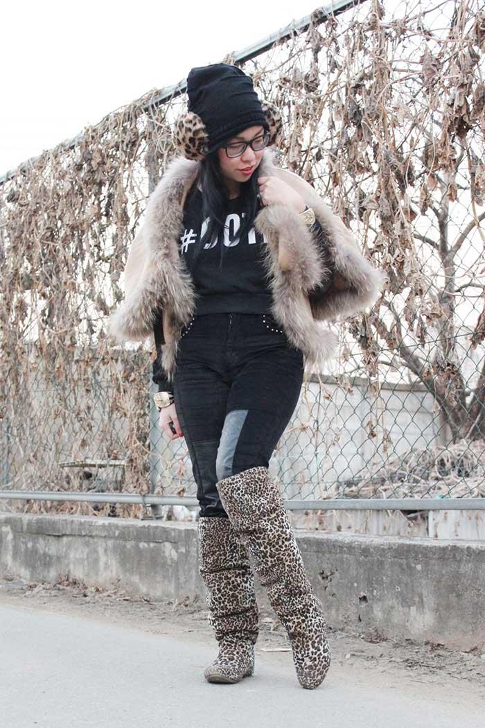 winter fashion cape