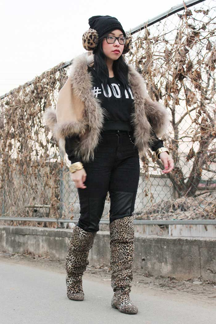 winter fashion styling