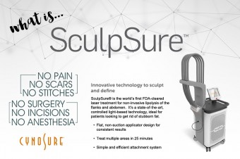 What is this Non-invasive (Fat Reduction) Laser Treatment called Sculpsure?