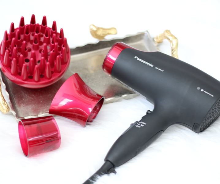 Infuse Moisture Into Your Hair with the Panasonic EH-NA65-K nanoe™ Hair Dryer