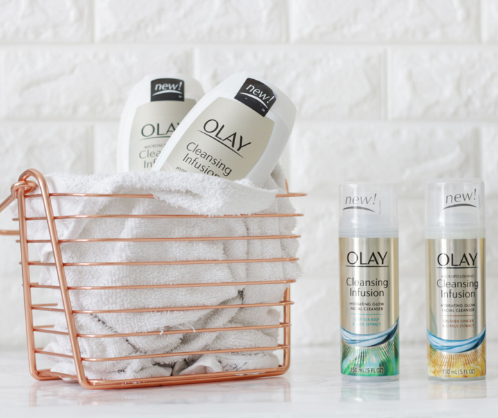 Reveal Your Natural Glow with Olay Cleansing Infusion