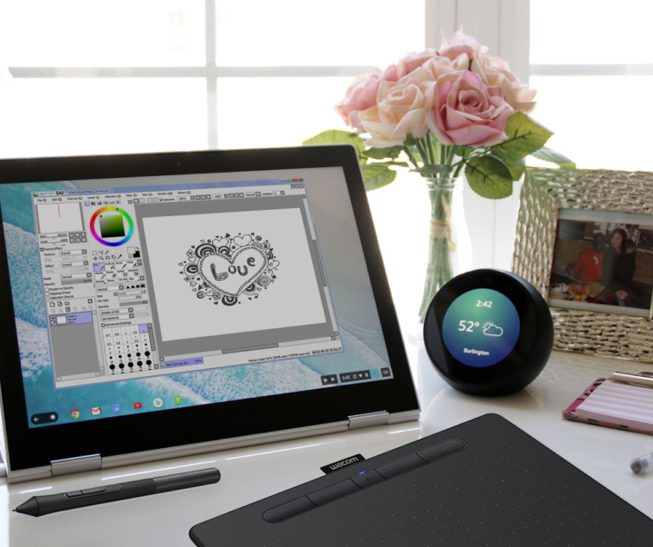 Best Drawing Tablet for Beginners & Pros: Wacom Intuos Bluetooth Creative Pen Tablet
