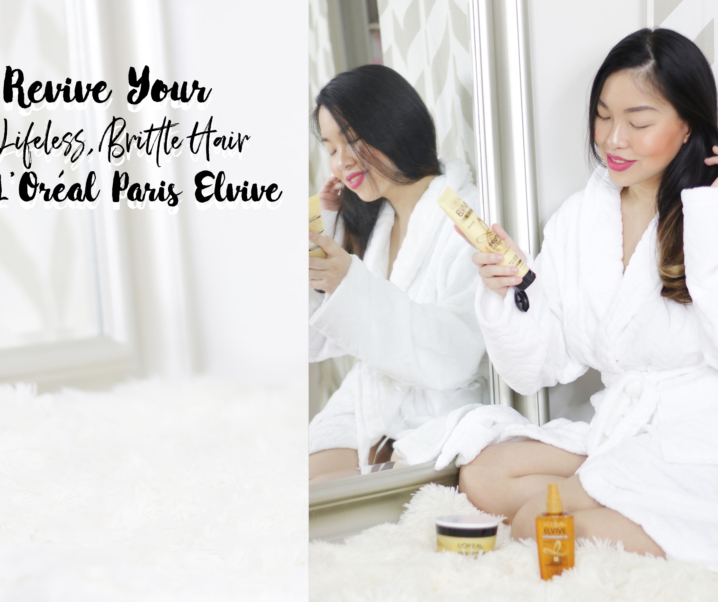 Revive Your Lifeless, Brittle Hair with L'Oréal Paris Elvive