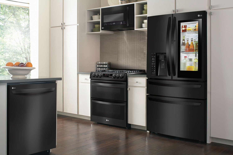 LG Matte Black Appliances