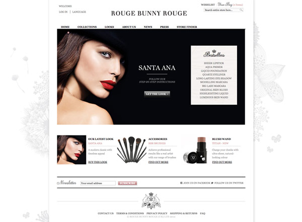 Rouge Bunny Rouge Web Boutique Launch