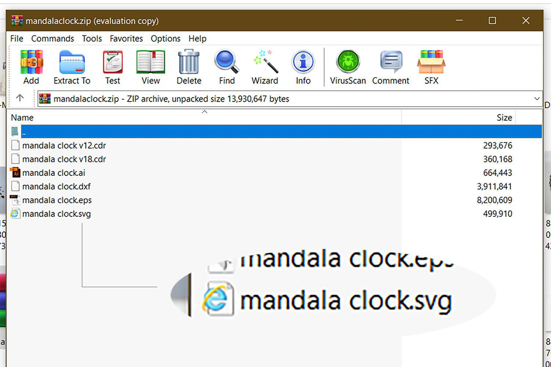 Tutorial 3D Layered Mandala Clock
