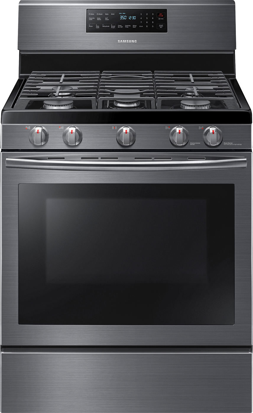 Samung Self-Cleaning Freestanding Gas Convection Range