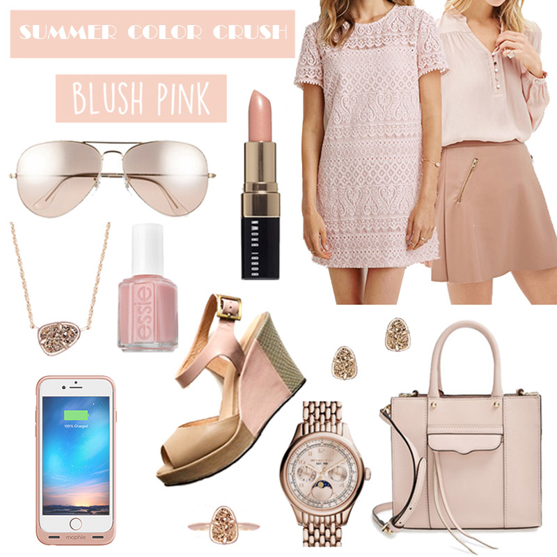 Blush Rose Gold Trend