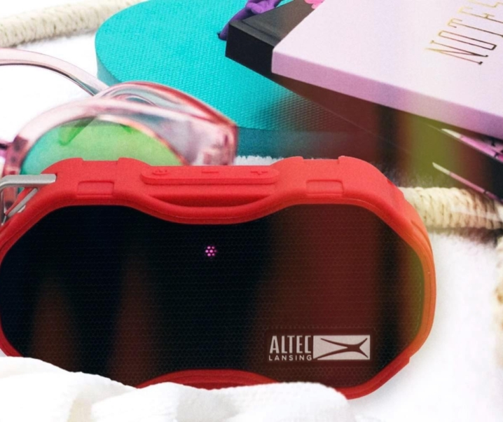 Altec Lansing Baby Boom XL – The Portable Bluetooth Speaker with Powerful, Bass Pumping Sound