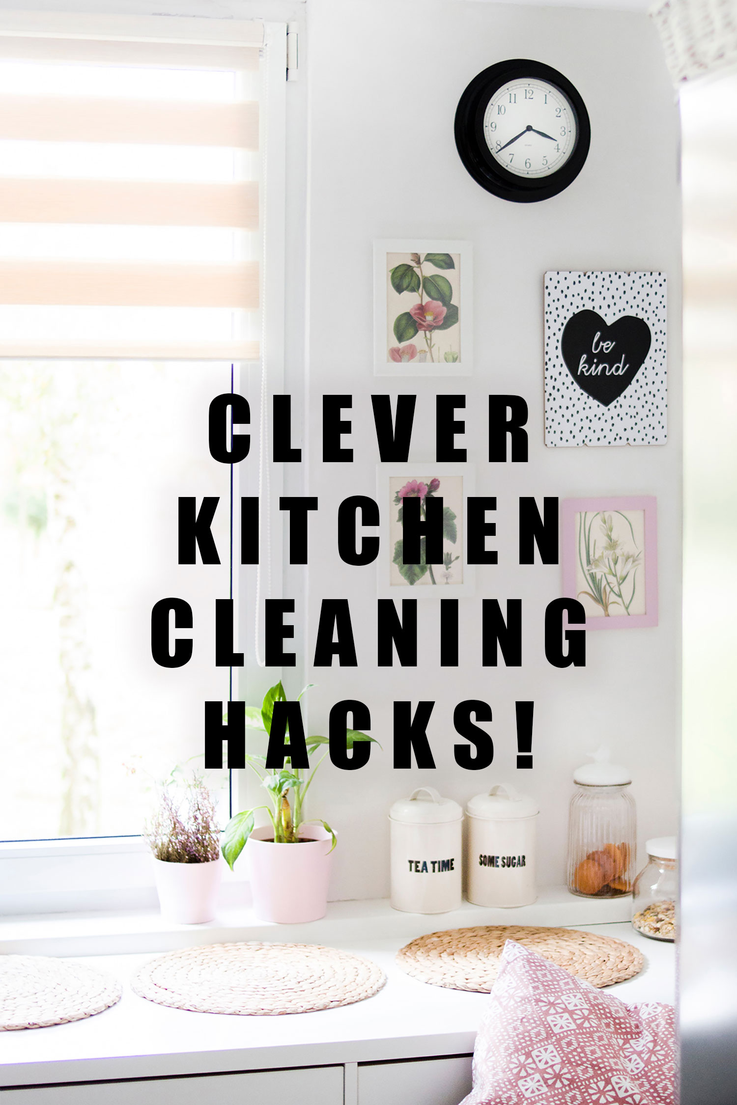 clever kitchen cleaning hacks