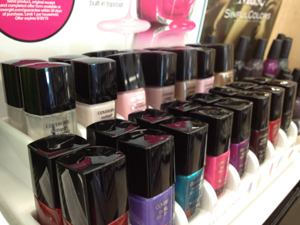 covergirl stay brilliant nail gloss