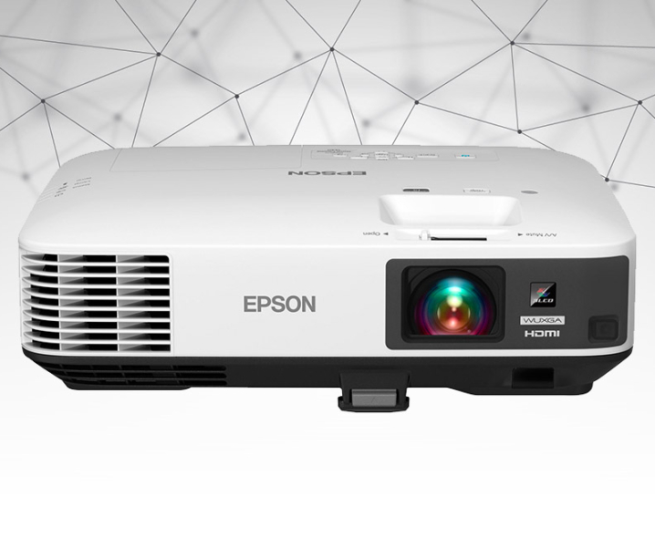 Family Night with Epson Ultra Bright Home Theater Projector