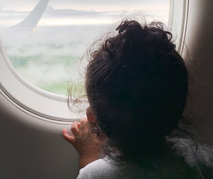 How to Survive a Long Airplane Trip with a Toddler