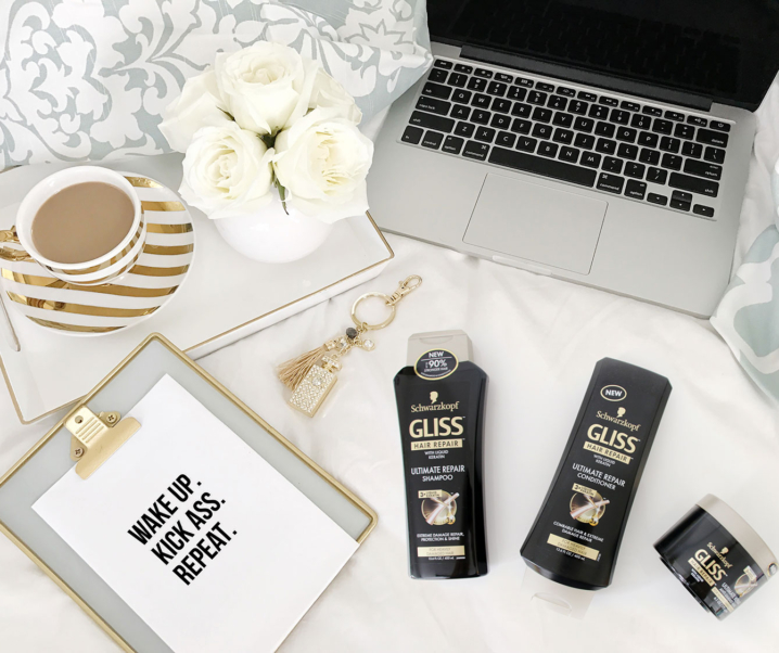 Bring Your Hair Back to its Crowning Glory with Schwarzkopf Gliss Ultimate Repair with 3X Liquid Keratin