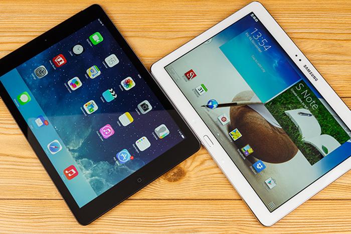 iPad Air vs Samsung Galaxy Note 10.1