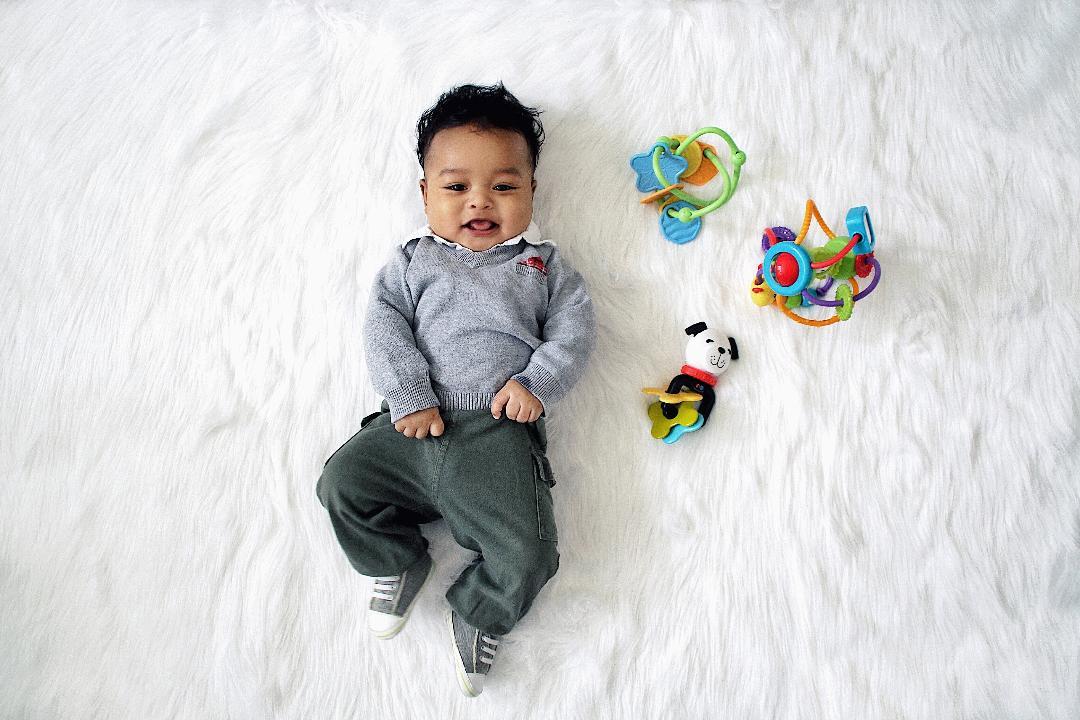 cute blasian baby