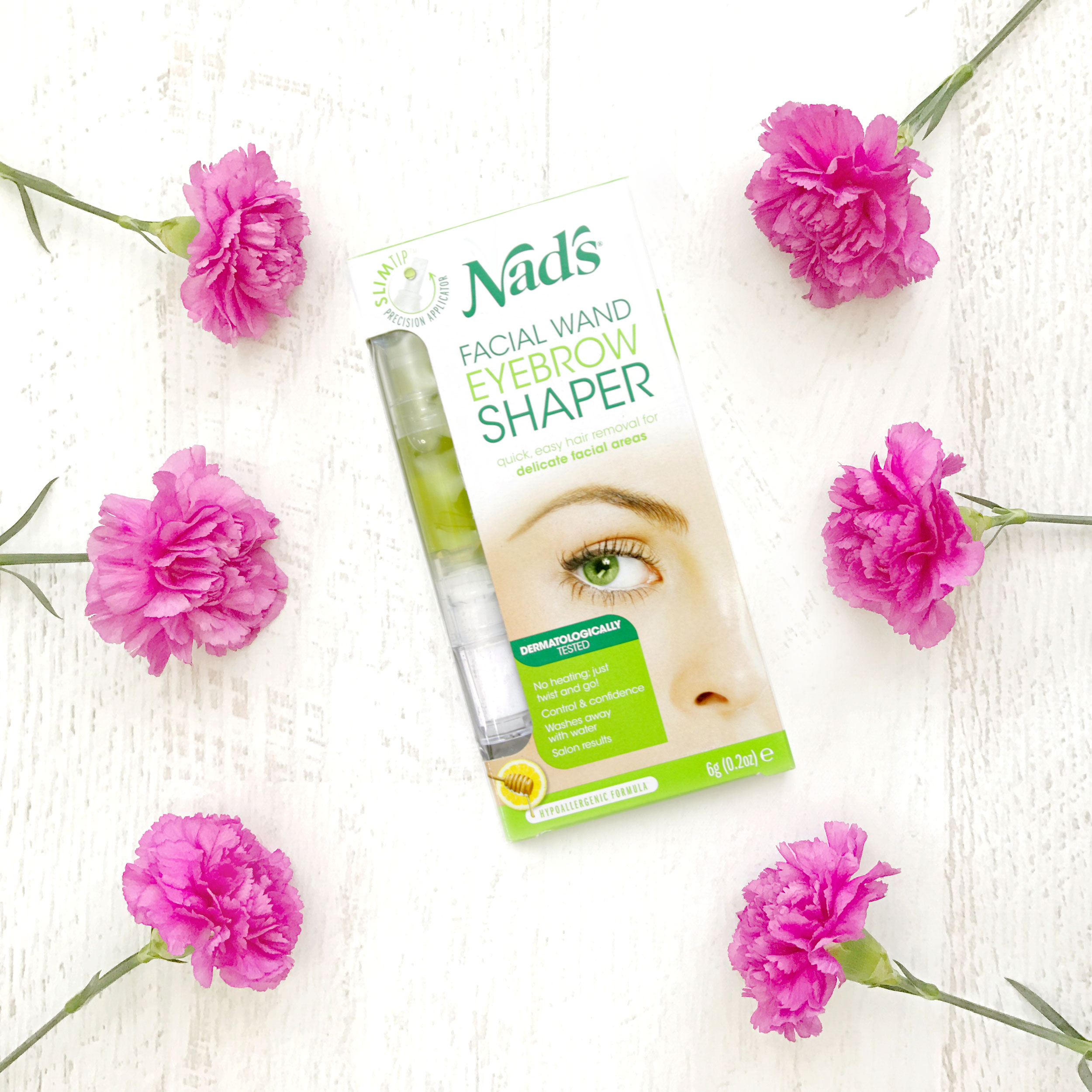 Quick And Easy At Home Brow Shaping With Nads Eyebrow Shaper