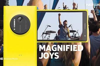 Nokia Lumia 1020 in Yellow