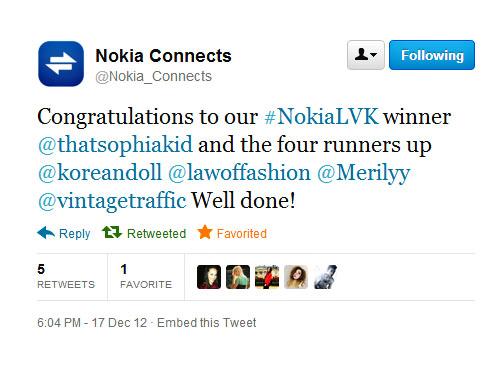 Nokia LeiVanKash NokiaLVK angela ricardo koreandoll