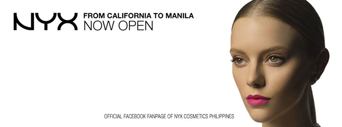 nyx cosmetics philippines nyxnowinmanila