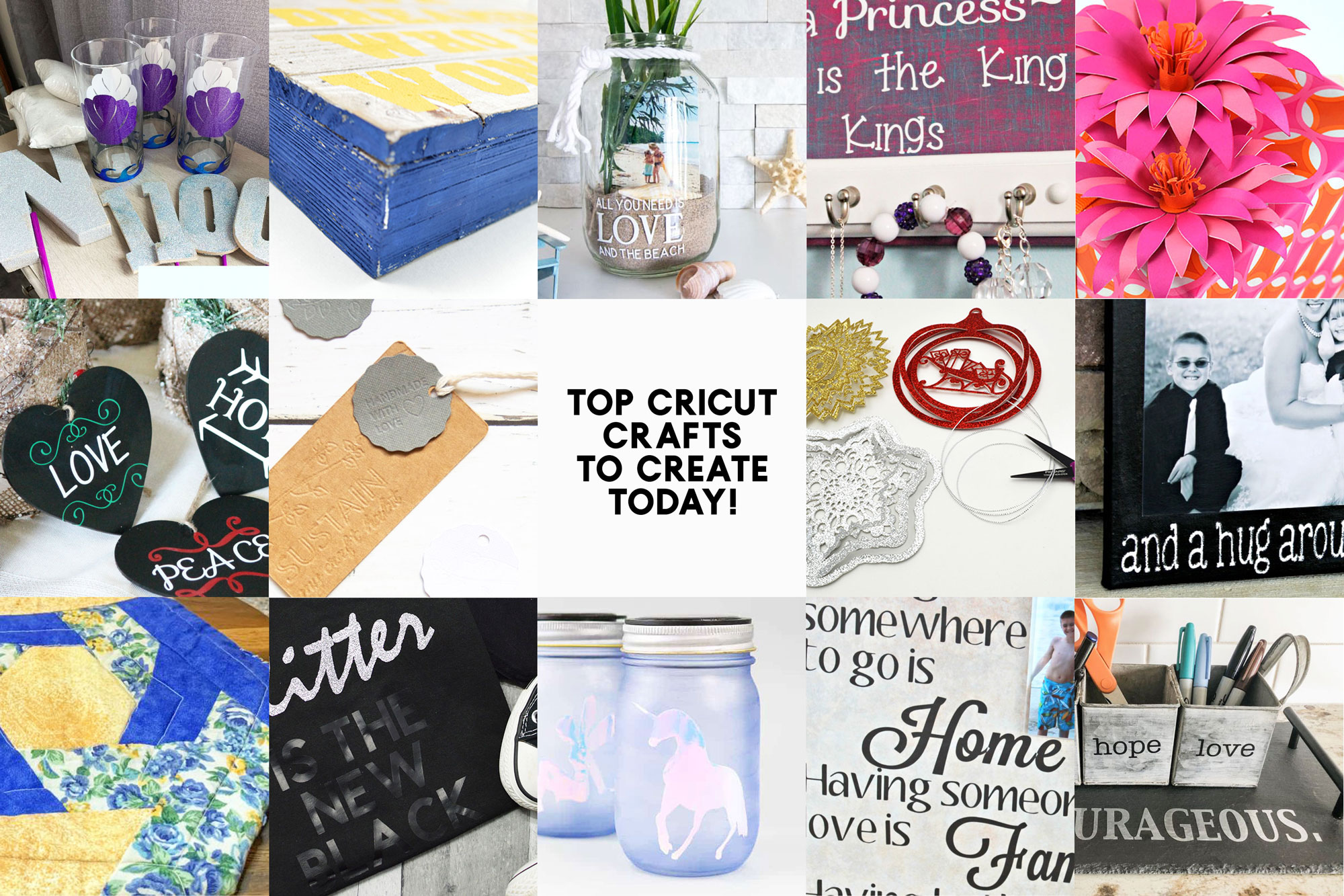 recreate cricut crafts