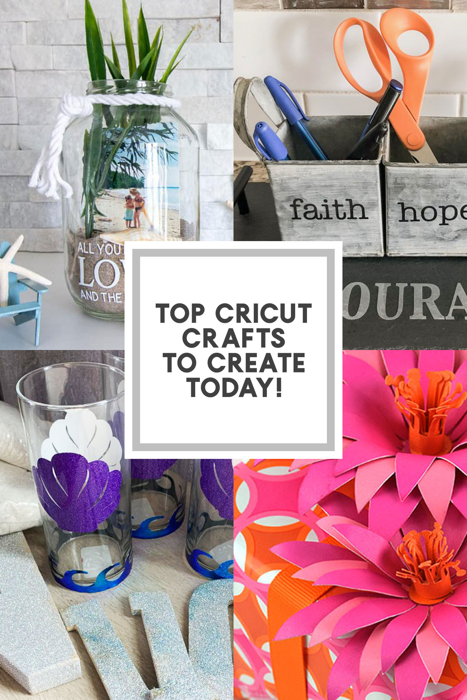 recreate cricut crafts