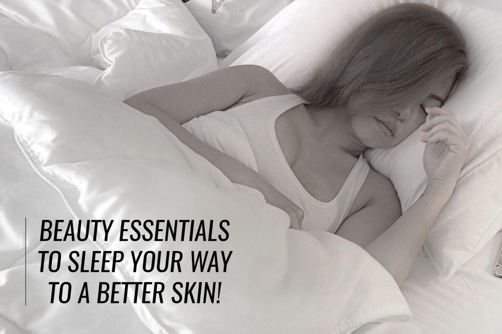 sleep for better skin