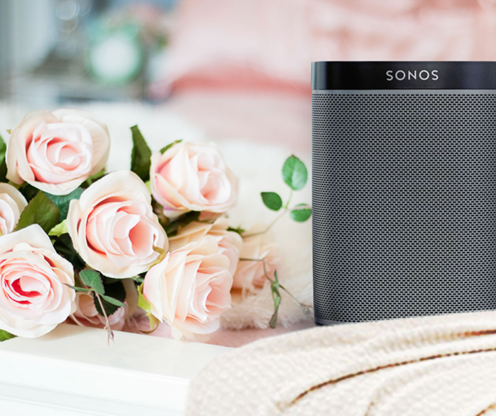 Groovin' Along Sonos One Wireless Speaker with Amazon Alexa Voice Assistant