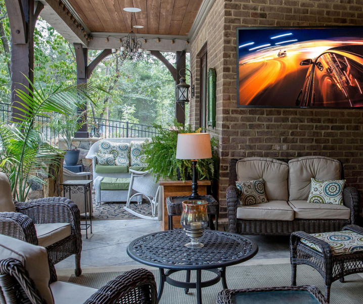 Create an Outdoor Home Theater with SunbriteTV