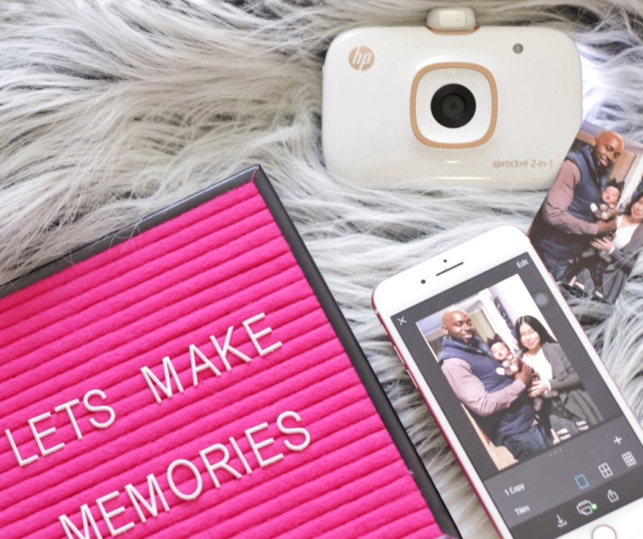 Making Memories with HP Sprocket
